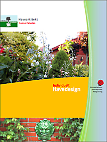 Brochure, Sanne Paludan, havearkitekt